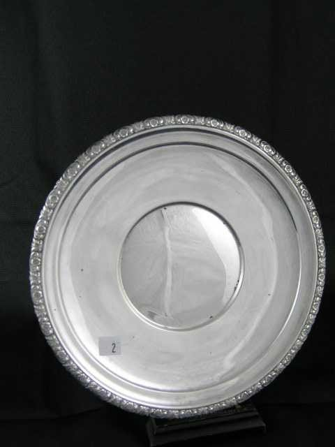 2: International Sterling Silver - Serving Plate