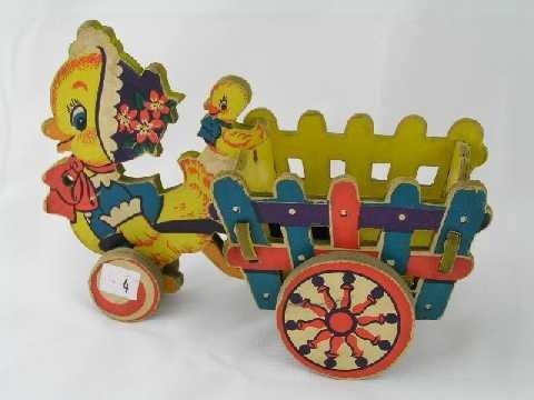 4: Vintage Easter Candy Basket