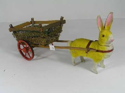 5: Antique German Bunny Rabbit Easter Collectible