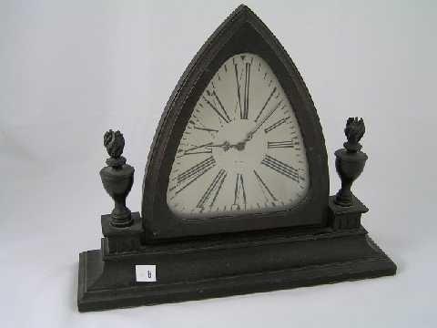8: Antique Waltham Shelf Clock