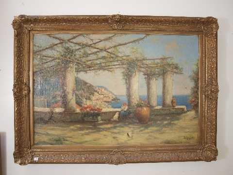 10: Nicholas (Nicolas) Briganti  (1861 - 1944) Landscap