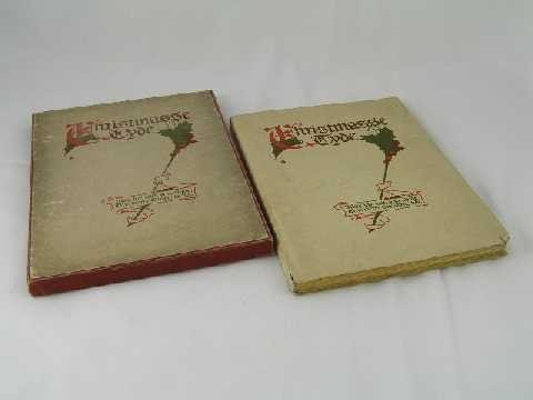 22: Antique Christmas Book - Christmasse Tyde