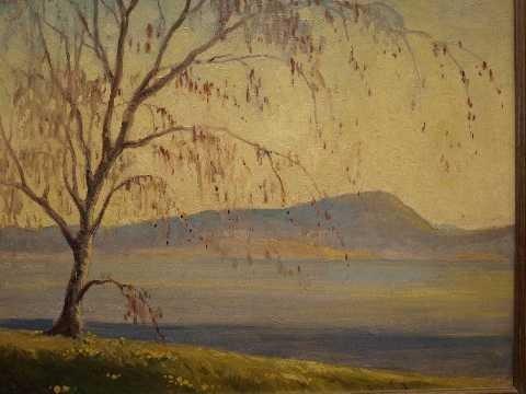 23: Harry Muir Kurtzworth (1887-1979) Oil on Panel