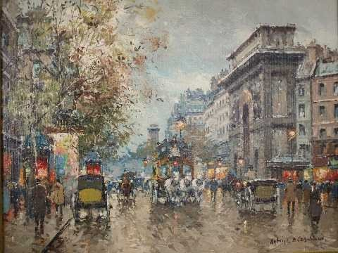 133: Antoine Blanchard - French Artist - Oil on Canvas