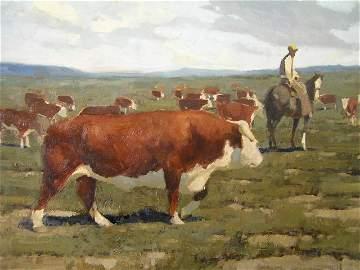 150: James Reynolds - Calif Arizona Artist - Western