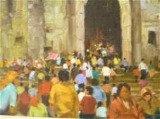 203: Colorado Artist - Ramon Kelly - Oil on Canvas Pain