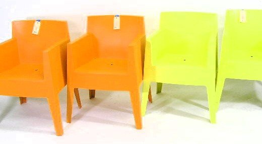 10: SET 4 - PHILLIPPE STARK -  ALANTIDE CHAIRS