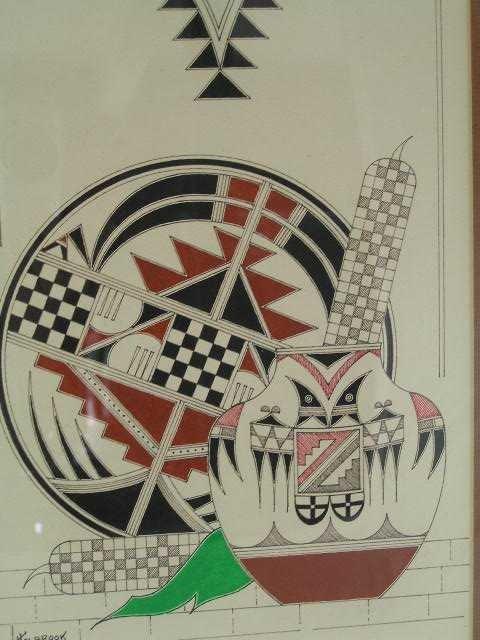 16: Vintage - SW Art Piece Signed Holbrook 1983
