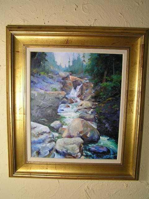 106: American Listed Artist - Bill Garrison - Oil on Ca - 2