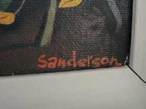 """150: William Sanderson - Colo Modernist - """"The Nude""""  - 2"""