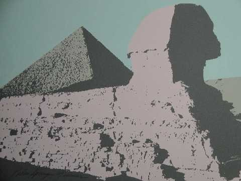 11: James Sicner - Palm Springs Museum LE litho - Egypt