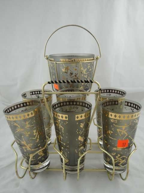 17: Vintage Retro - Congo Tumbler & Ice Bucket Set