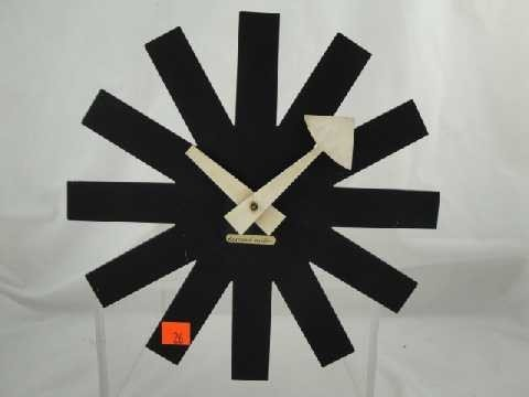 26: Orig - George Nelson Howard Miller Asterisk Clock