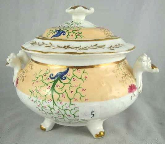 5: ENGLISH SOFT PASTE COVERED TUREEN