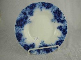 FLOW BLUE PLATE - SOUP BOWL BEACH JOHNSON BROS