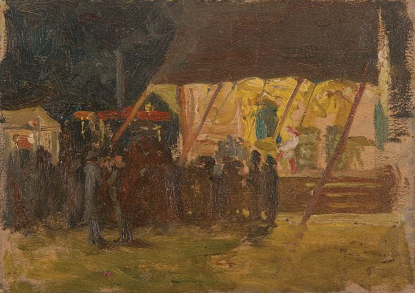 2: William Cave Day (1862-1924) Causton Norfolk Oil on