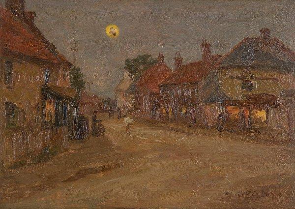 3: William Cave Day (1862-1924) Circus at Knaresborough