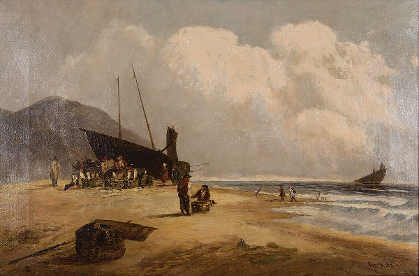 15: Thomas Morris Ash (Flourished ; 1881-1885) On the W