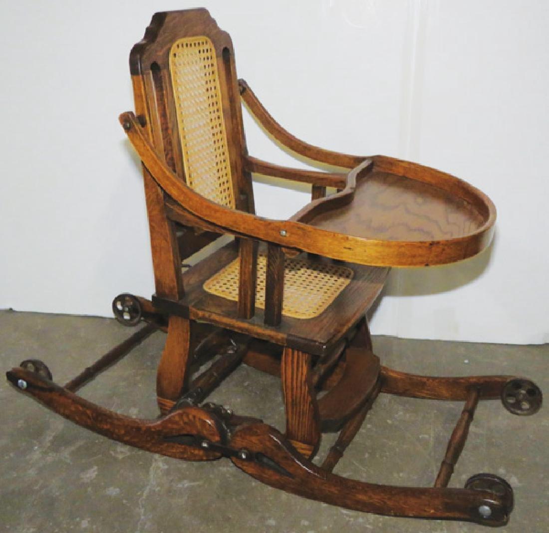 Bentwood Convertible High Chair - 2