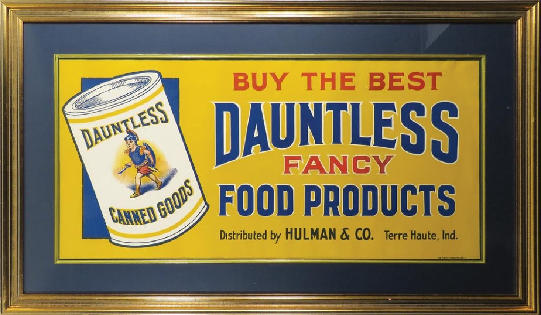 Dauntless Food Products Canvas Banner