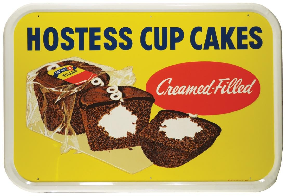 Hostess Cupcakes Embossed Tin Sign