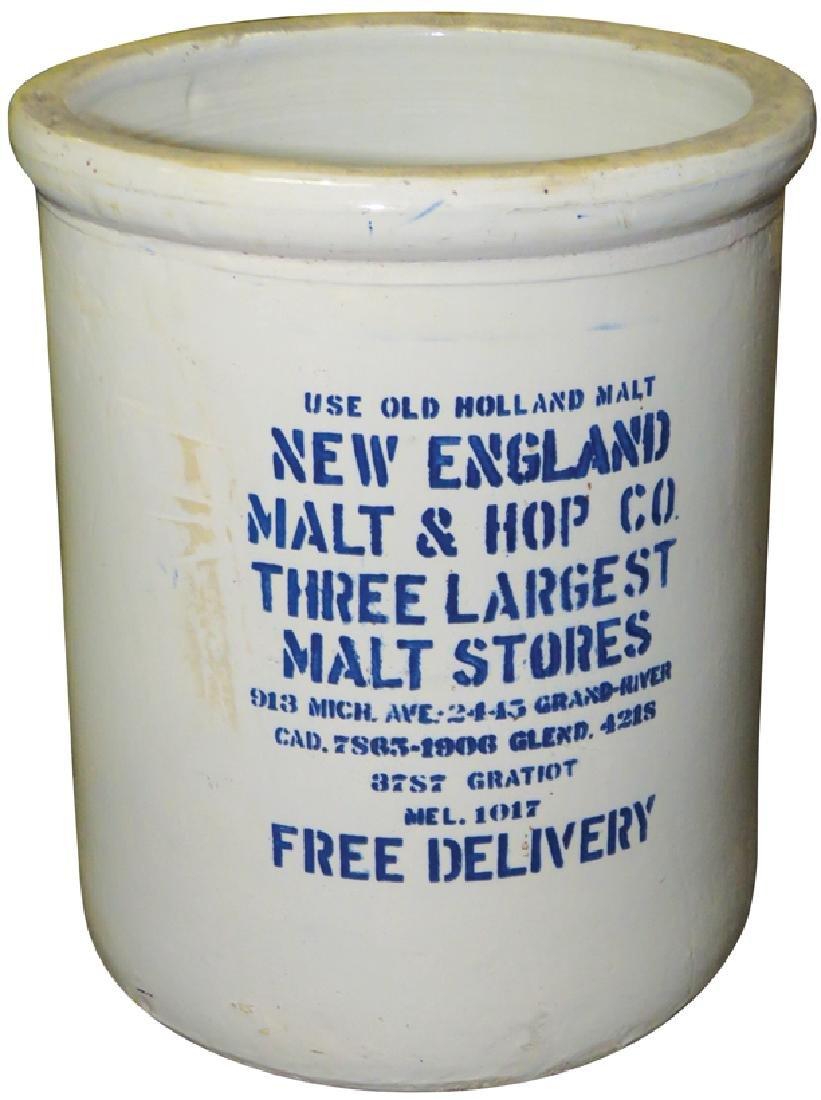 New England Malt & Hop Co. 10 gallon Crock