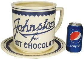 Johnston's Hot Chocolate Store Counter Display