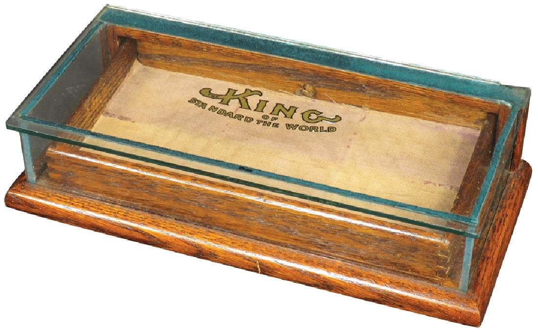 King Collar Button Store Display Case