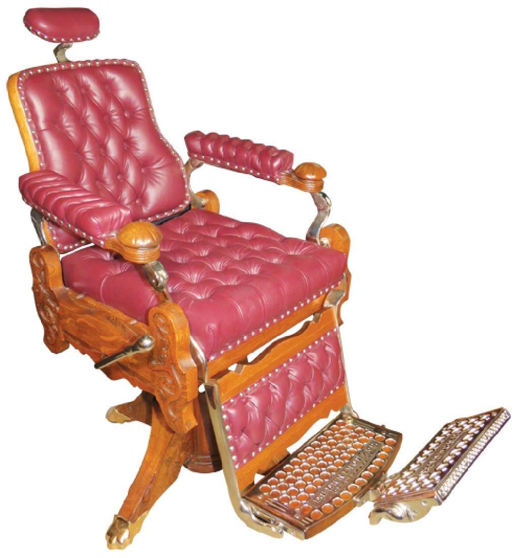 E. Berninghaus Barber Chair