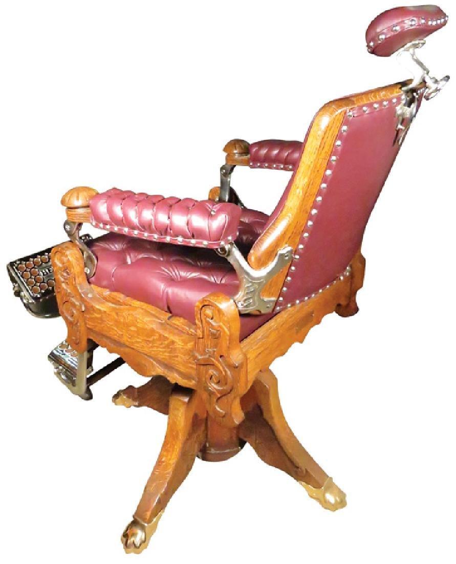 E. Berninghaus Barber Chair - 2