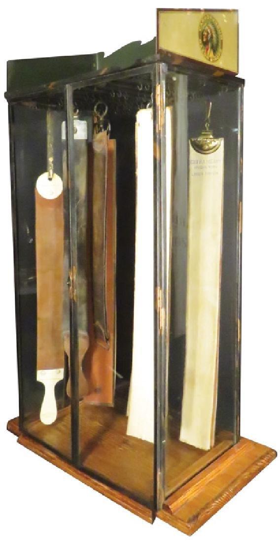 Carborundum Razor Strop Display Case - 2
