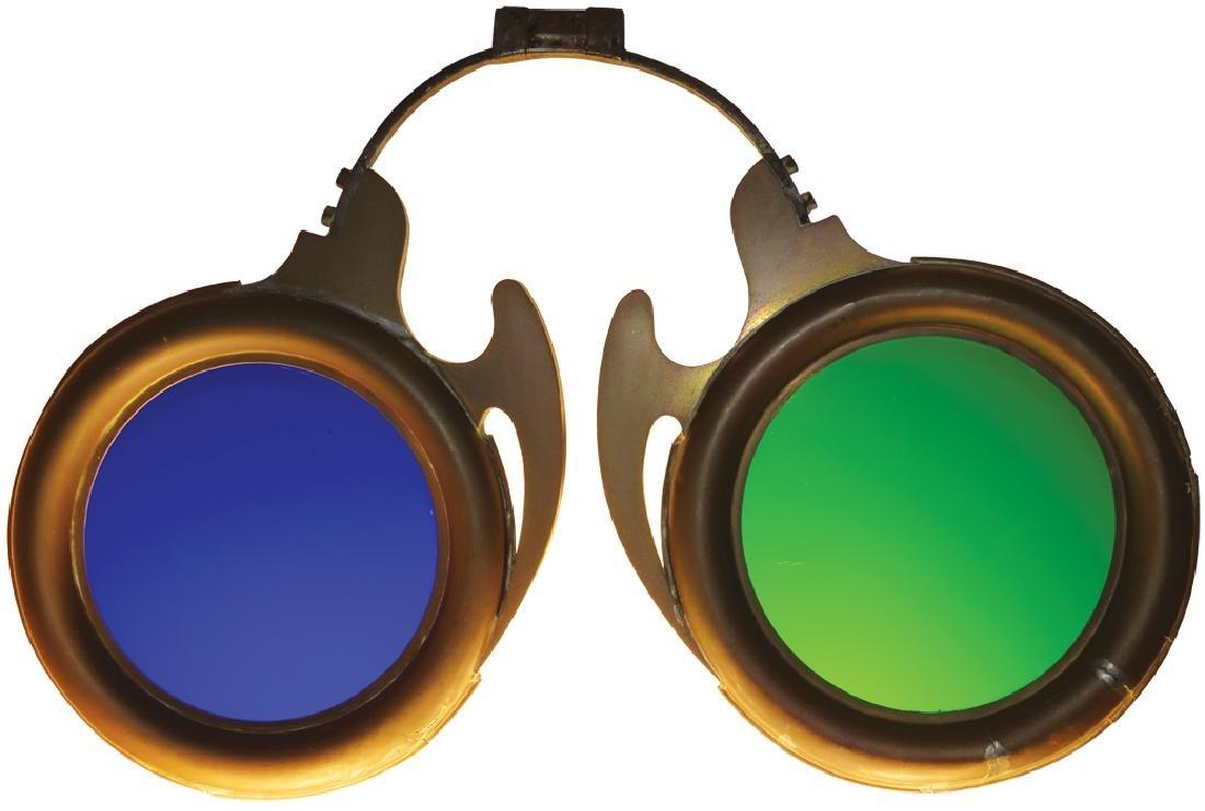 Optometrist Zinc Trade Sign