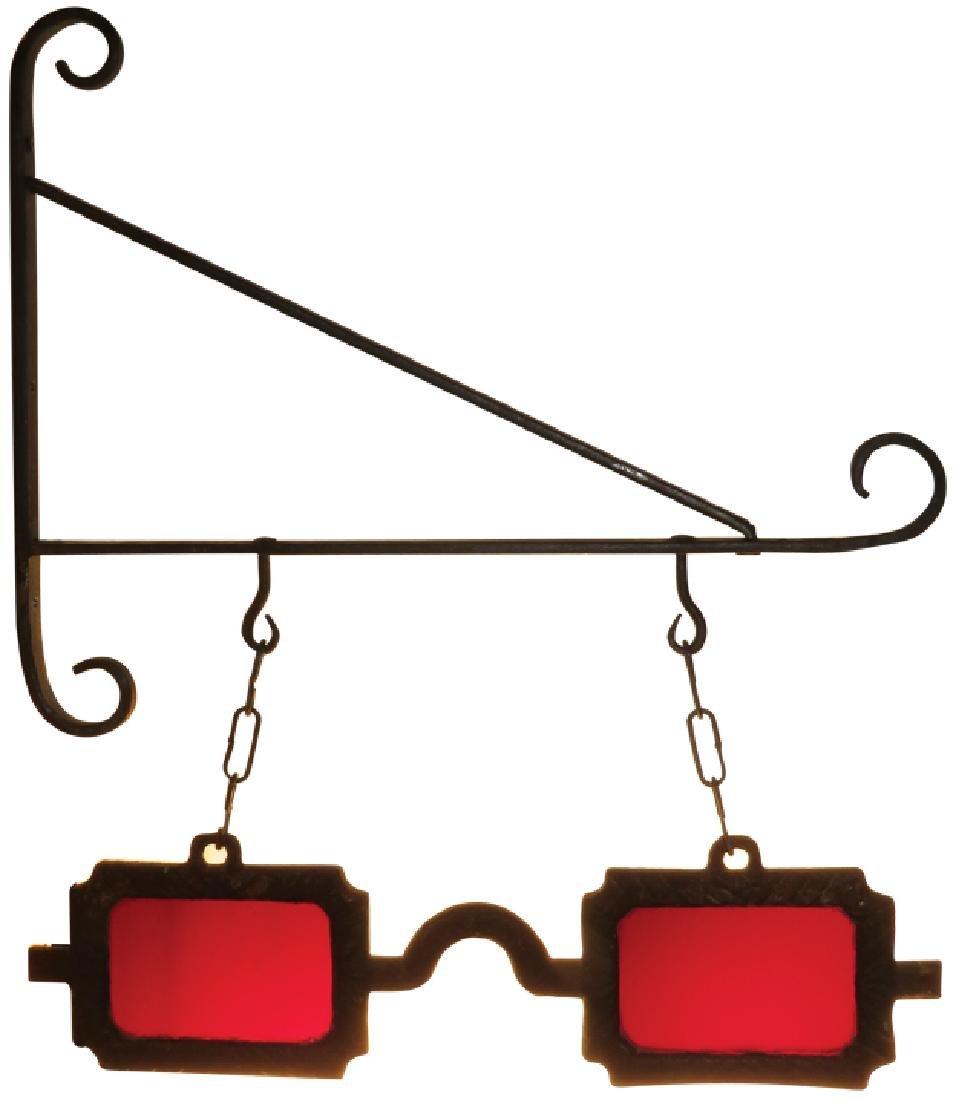 Optometrist Eye Glass Trade Sign
