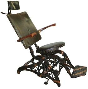 """""""The Allison"""" Collapsible Traveling Dental Chair"""