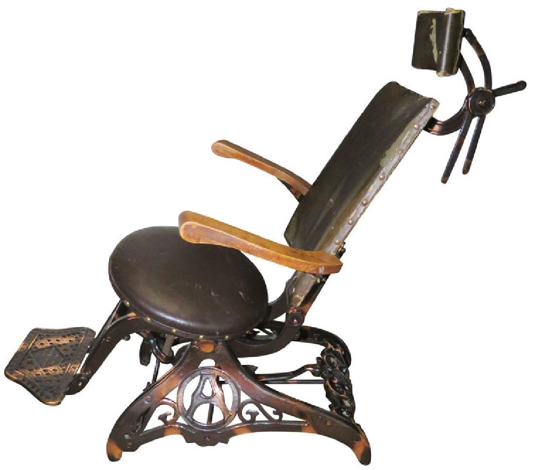 """""""The Allison"""" Collapsible Traveling Dental Chair - 2"""