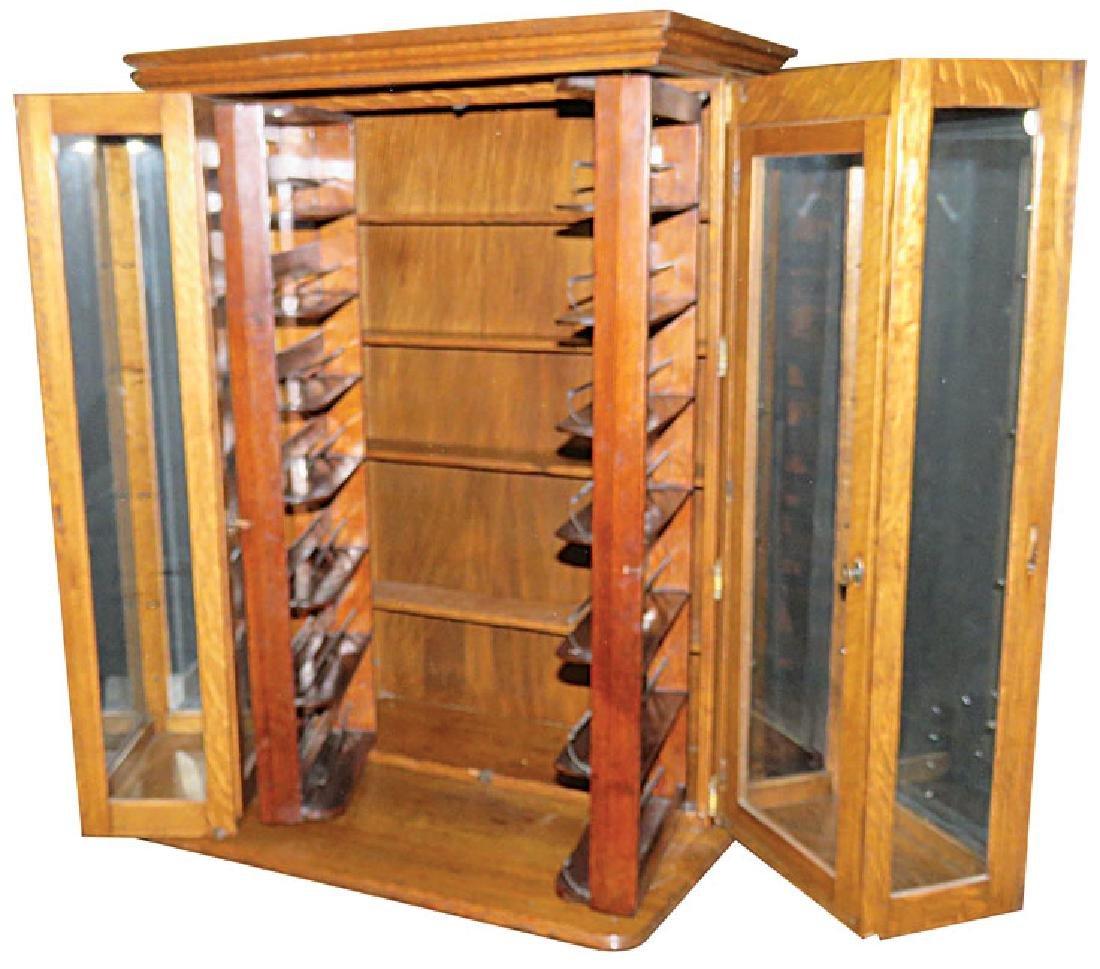 Quartersawn Oak Doctor's Cabinet - 2