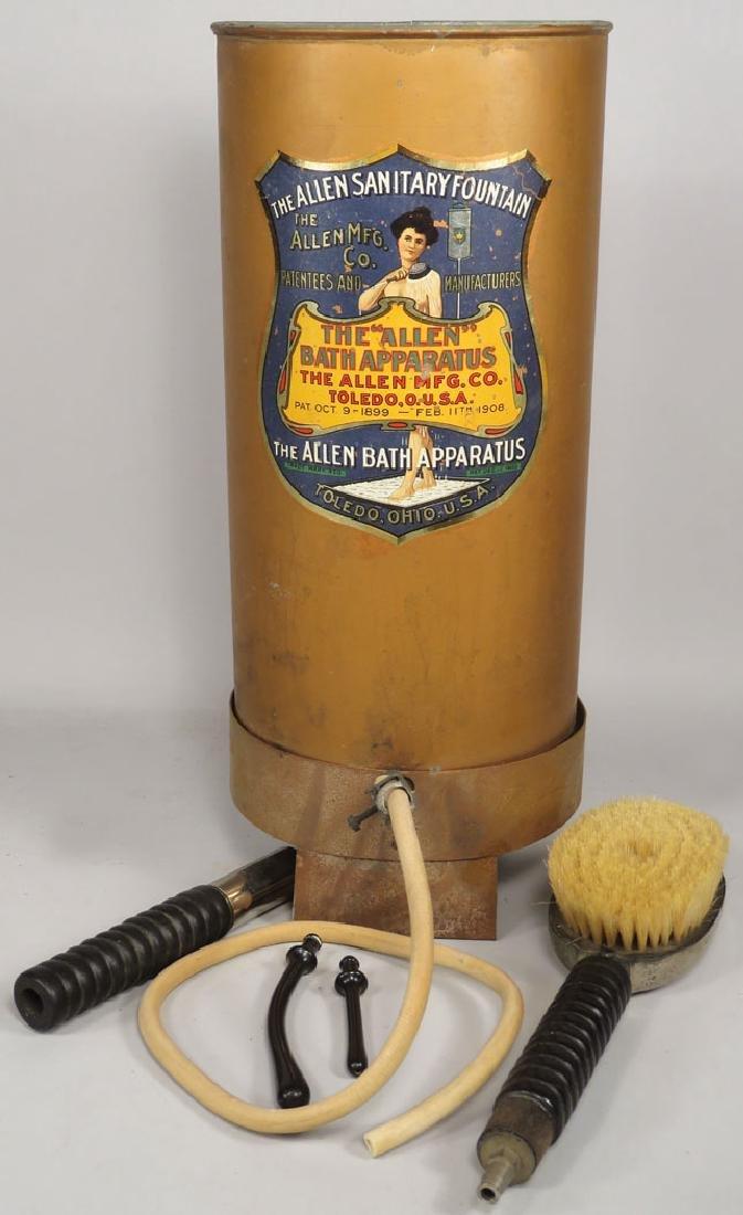 "The ""Allen"" Bath Apparatus"