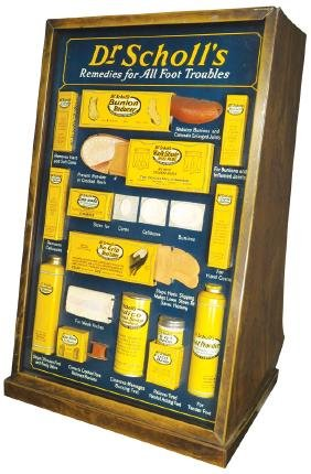 Dr. Scholl's Remedies Store Display Cabinet