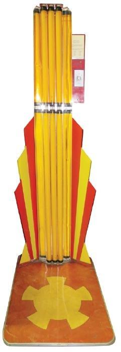 Mid Century Stand-Up Sun Tan Lamp