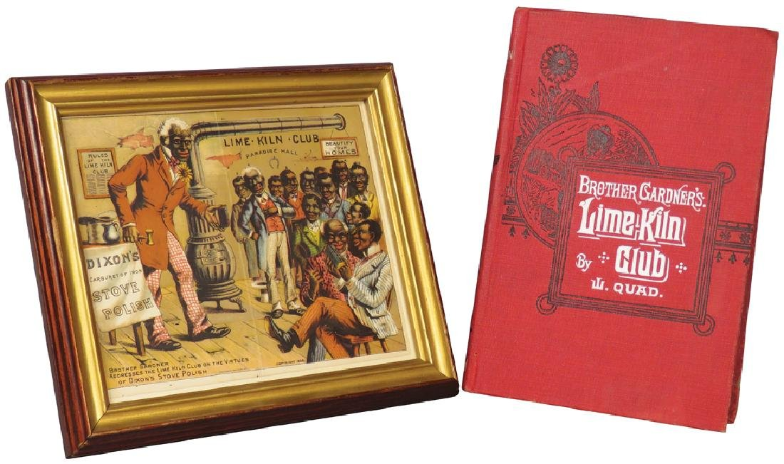 Brothers Gardner's Lime Kiln Club Items