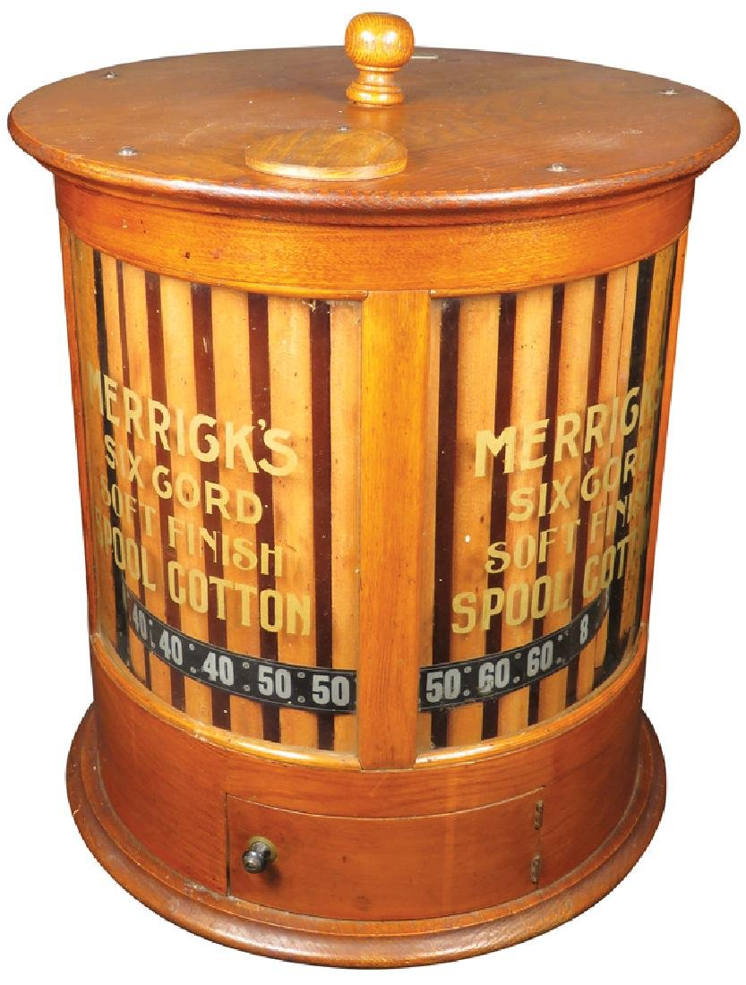 Merricks Six Cord Spool Cotton Cabinet