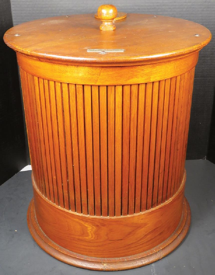Merricks Six Cord Spool Cotton Cabinet - 2