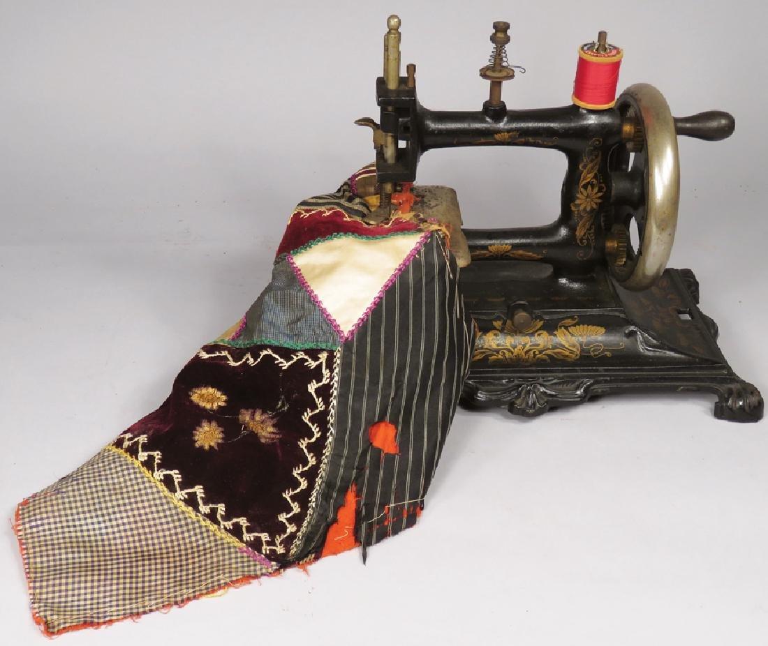 German Cast Iron Sewing Machine