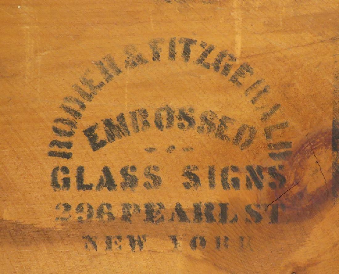 Mc Call Patterns Reverse Glass Sign - 2