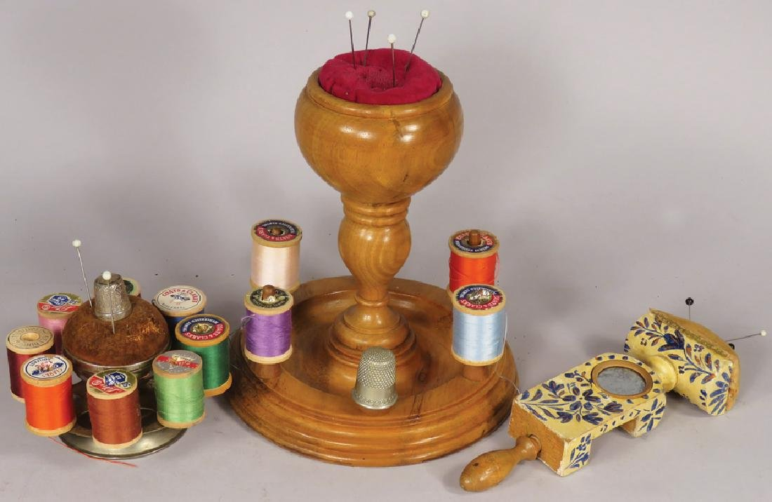 Collection of Early Sewing Items