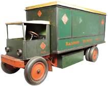 Railway Express Pressed Steel Display Truck