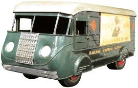 Railway Express City Delivery, Display Truck