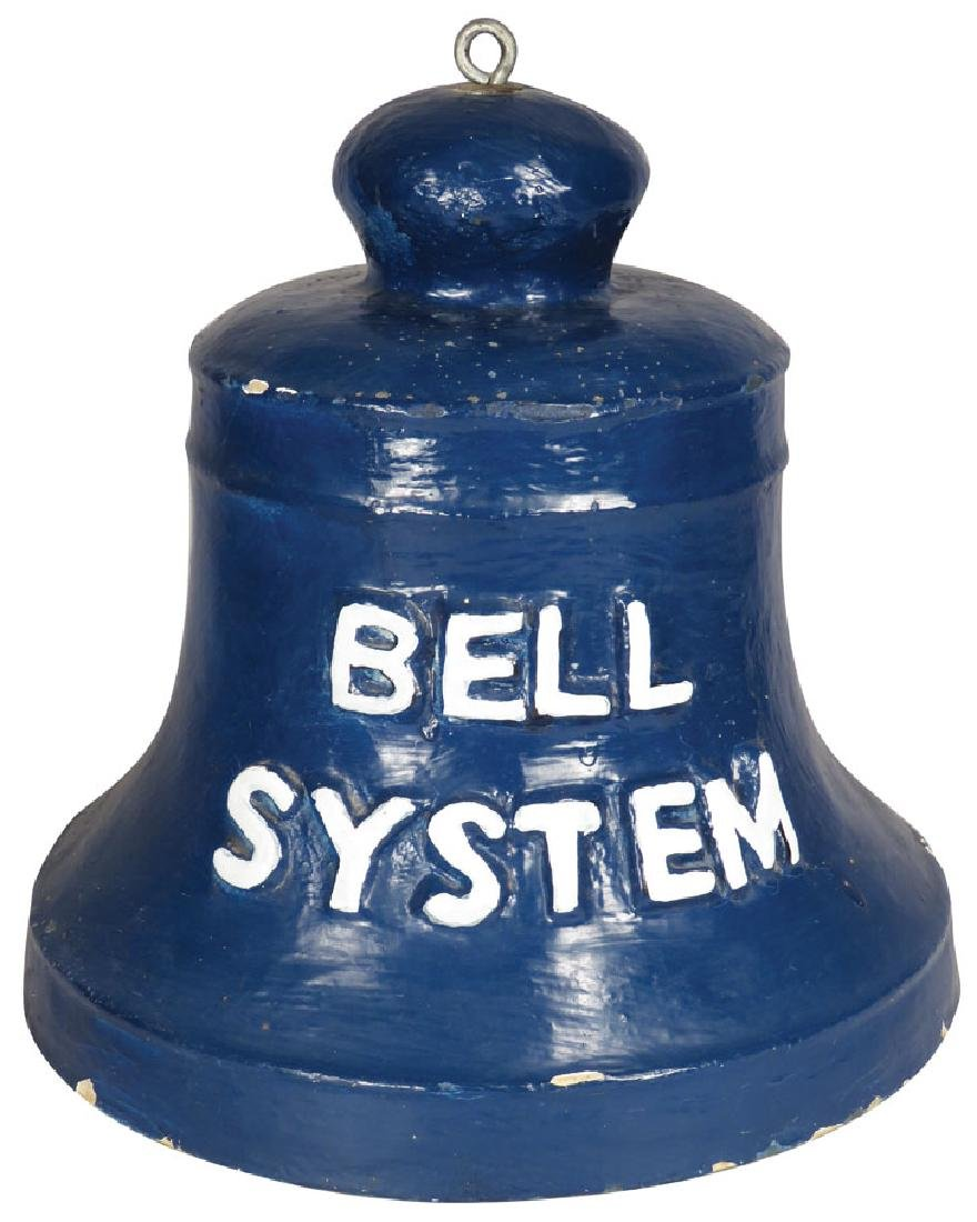 Bell System Paper Mache Trade Sign