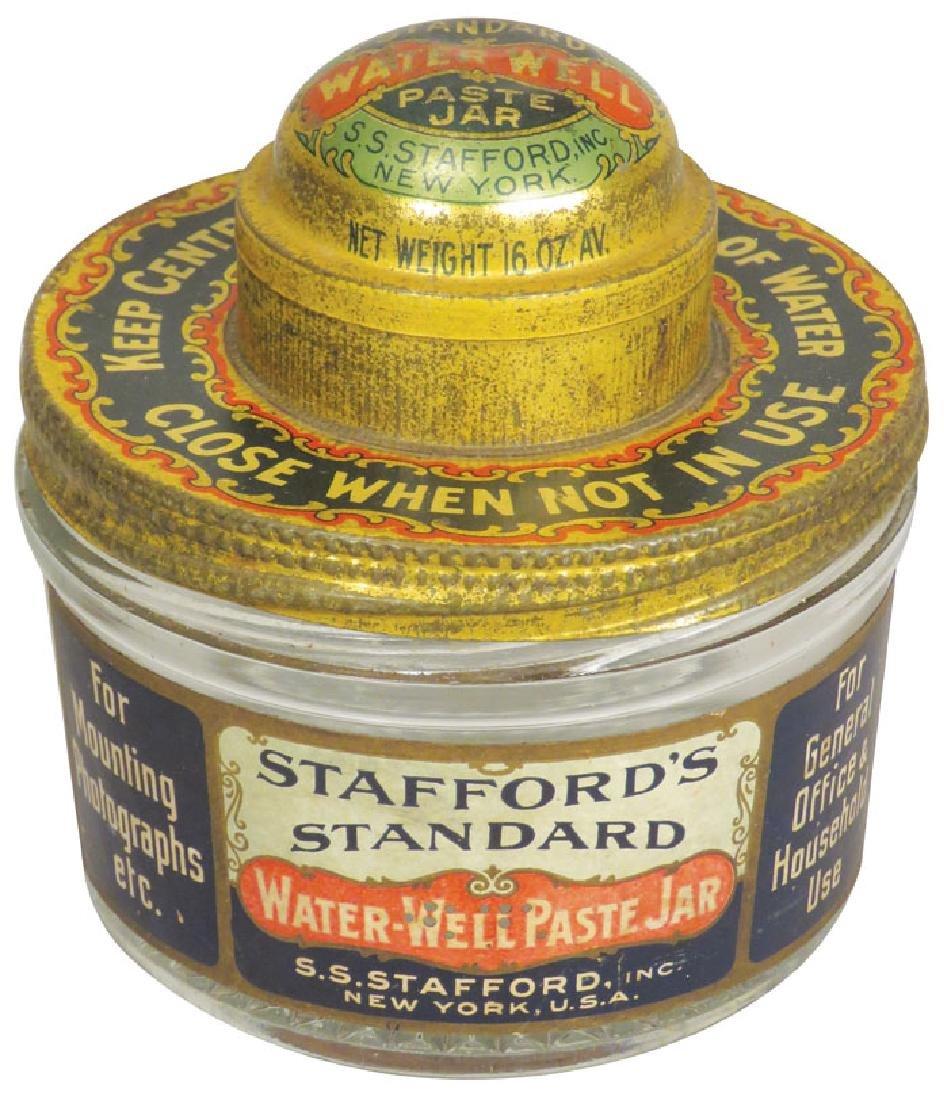 Stafford's Standard Water Well Paste Jar