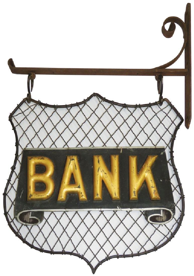 Bank Trade Sign